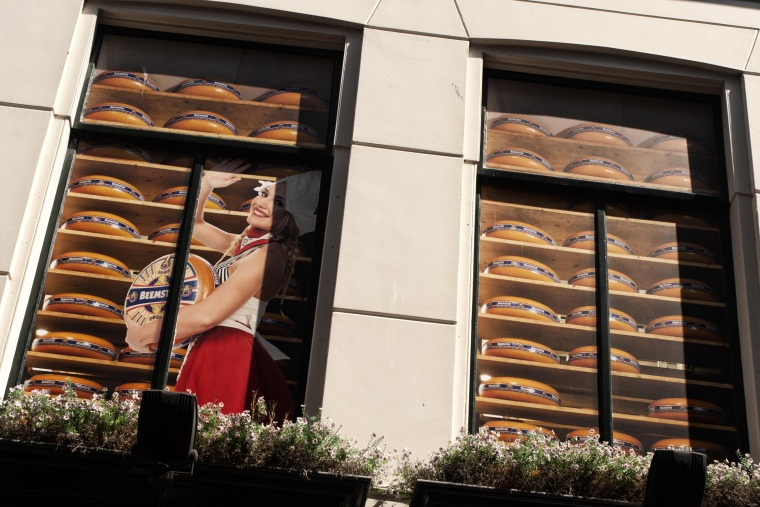 Olanda, ALKMAAR: Qui si rischia, letteralmente, di inciampare sul formaggio
