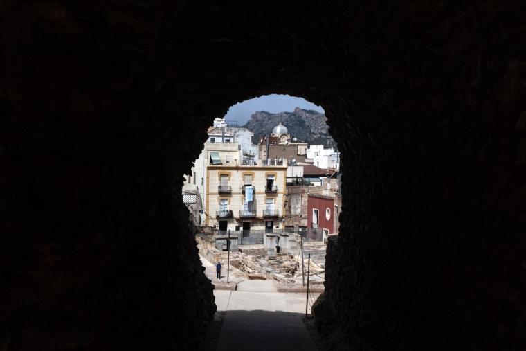 Spagna, CARTAGENA: Ho caldo, tanto caldo, troppo caldo...