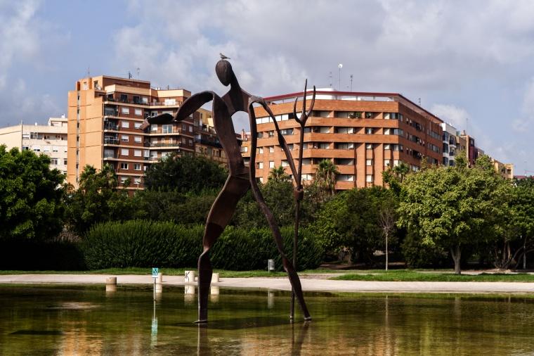 Spagna, VALENCIA: Idiota in fiamme