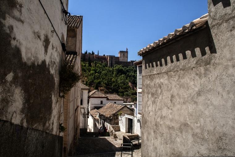 Spagna, GRANADA: Oggi è lunedì, l'Alahambra è chiusa al pubblico...