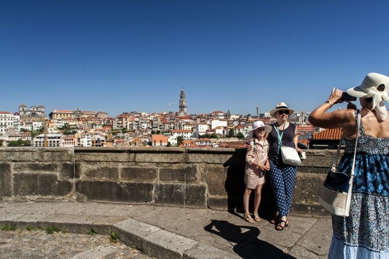 Portogallo, PORTO: La salita è solo nella tua mente, non è reale... la salita è solo nella tua mente non è reale!