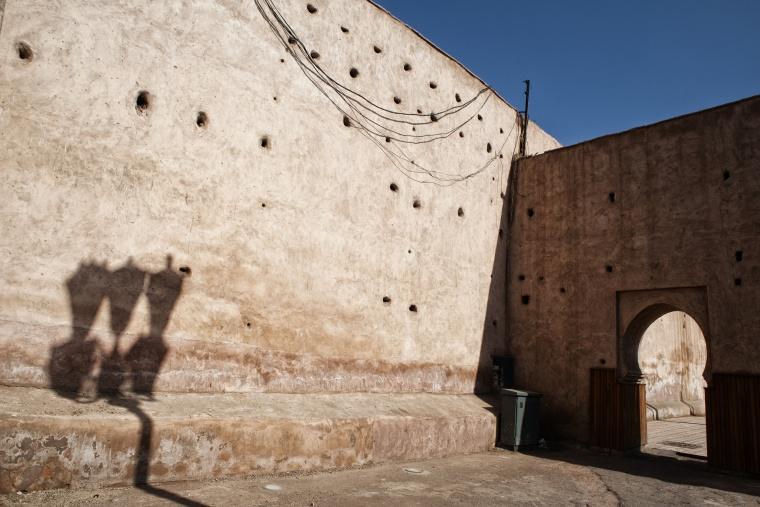 Marocco, MARRAKECH: In Marocco i cieli blu si svegliano a mezzogiorno