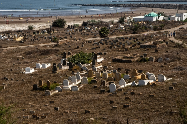 Marocco, RABAT: Spiaggia con vista