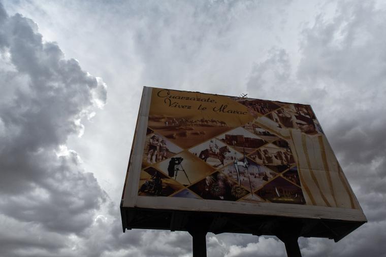 Marocco, OUARZAZATE: E piovve sul deserto!