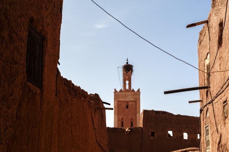 Marocco, OUARZAZATE: No, io non lavoro nel cinema...