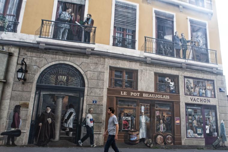 Francia, LIONE: Apologia del pan aux raisins