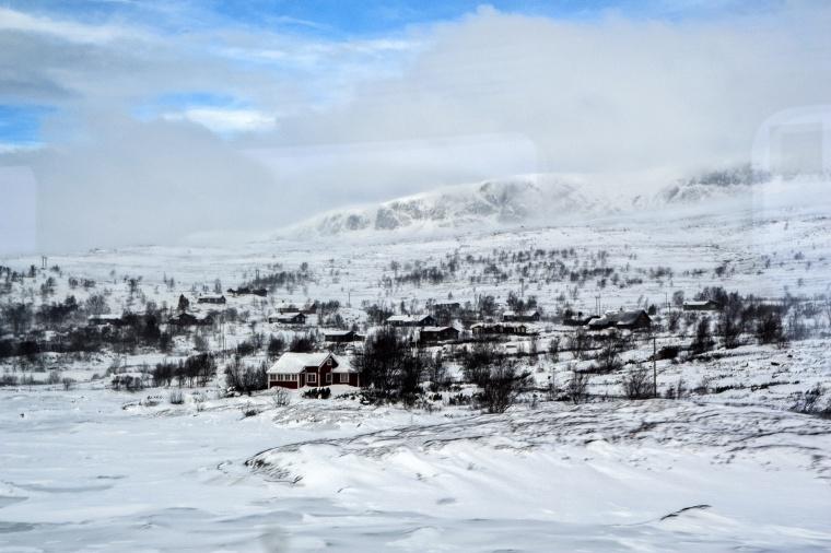 Norvegia, OSLO-BERGEN: Cartoline di Natale:  mood on