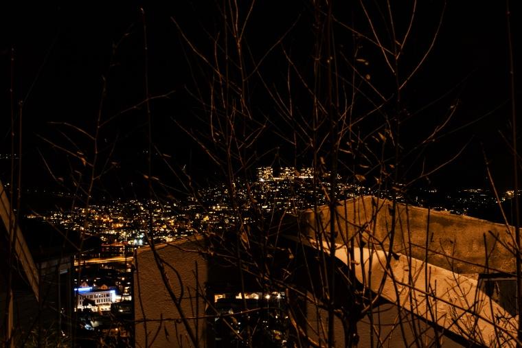Norvegia, DRAMMEN: La casa sulla collina sul fiordo