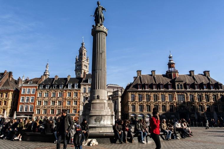 Francia, LILLA: La città è molto più bella del colore
