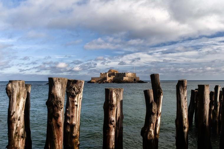 Francia, SAINT-MALO: Marea su o marea giù?