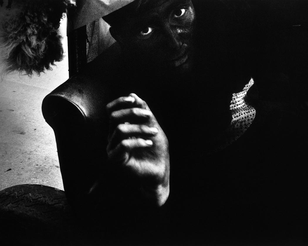 l'uomo nero e lo sciamano