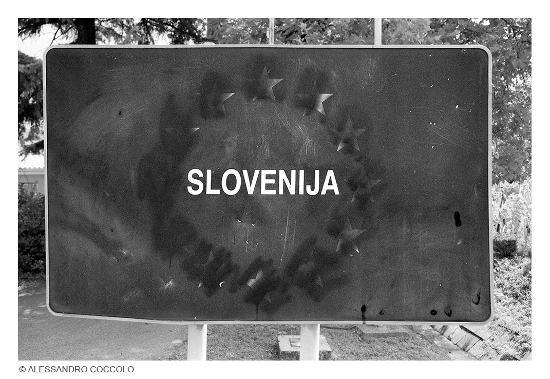 via Rafut (border) / Nova Gorica (SLO), 2020