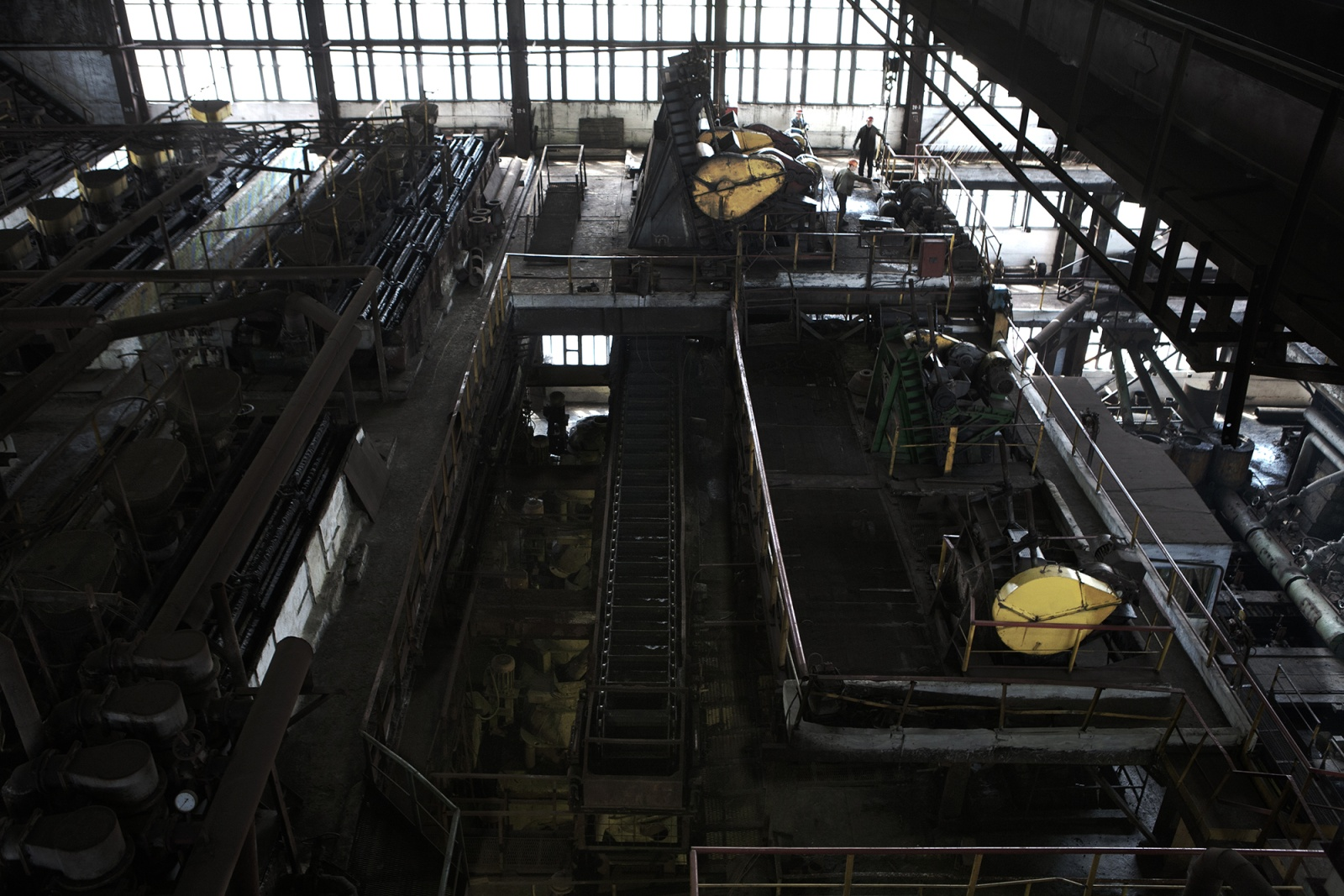 Mining industry in Donbass