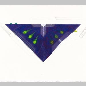 2015, tempera su carta, 35 x 50 cm