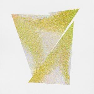 Ritrovarsi, 2018, acrilico su carta, 75 x 56 cm